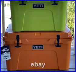 Yeti Tundra 45 Quart Cooler King Crab Orange SOLD OUT Hard To Find! Awesome