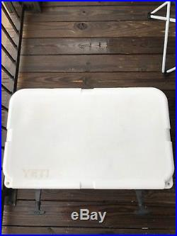 Yeti Tundra 45 Quart Cooler, White