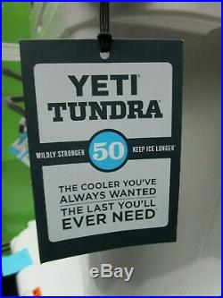 Yeti Tundra 50 Cooler NEW with TAGS READ