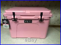 Yeti Tundra 50 Cooler PINK LIMITED EDITION BRAND NEW! Includes pink Yeti hat