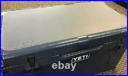 Yeti Tundra 65 Hard Cooler 2428 Navy 13 Gallons 42 Cans 52lbs. Ice New