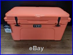 Yeti Tundra 65 Hard Cooler Coral ($349.99 MSRP!)