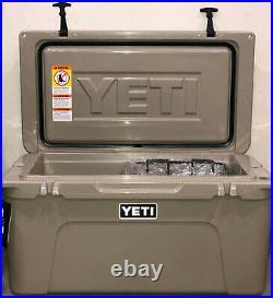 Yeti Tundra 65 Hard Cooler Desert Tan color