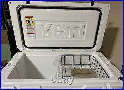 Yeti Tundra 65 Hard Cooler White color