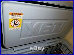 Yeti Tundra 65 Ice Blue Limited Edition Cooler SOLD Out DISCONTINUED Color Used