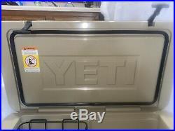 Yeti Tundra 65 Quart Cooler Ice Chest TAN