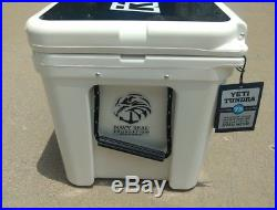Yeti Tundra 75 Hard Cooler White BRAND NEW Limited Edition Kill Cliff Navy Seal