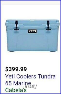 Yeti Tundra Cooler brand new never opened
