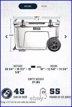 Yeti Tundra Haul 55 Wheeled Cooler