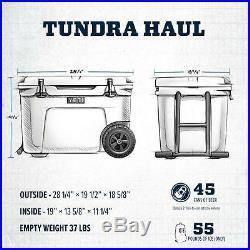 Yeti Tundra Haul Cooler Ice Blue, Brand New FREE SHIPPING
