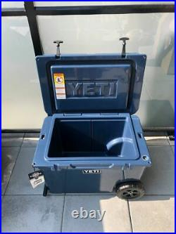 Yeti Tundra Haul Wheeled Cooler Color Navy Brand New