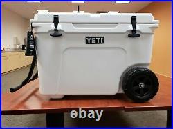 Yeti Tundra Haul Wheeled Cooler New White