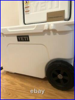 Yeti Tundra Haul Wheeled Cooler-White