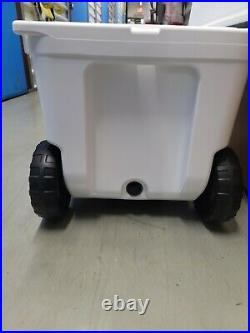 Yeti Tundra Haul Wheeled Cooler White Brand New