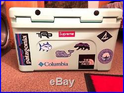 Yeti cooler 45 SeaFoam limited addition (Custom)