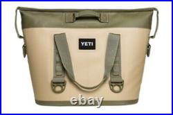 Yeti cooler, only used a few times. Also had a front bag to put on the front